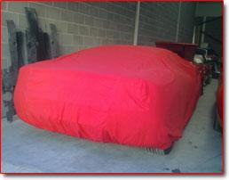 Ferrari Car Covers More Than Polish