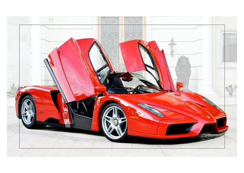 Ferrari ENZO painting