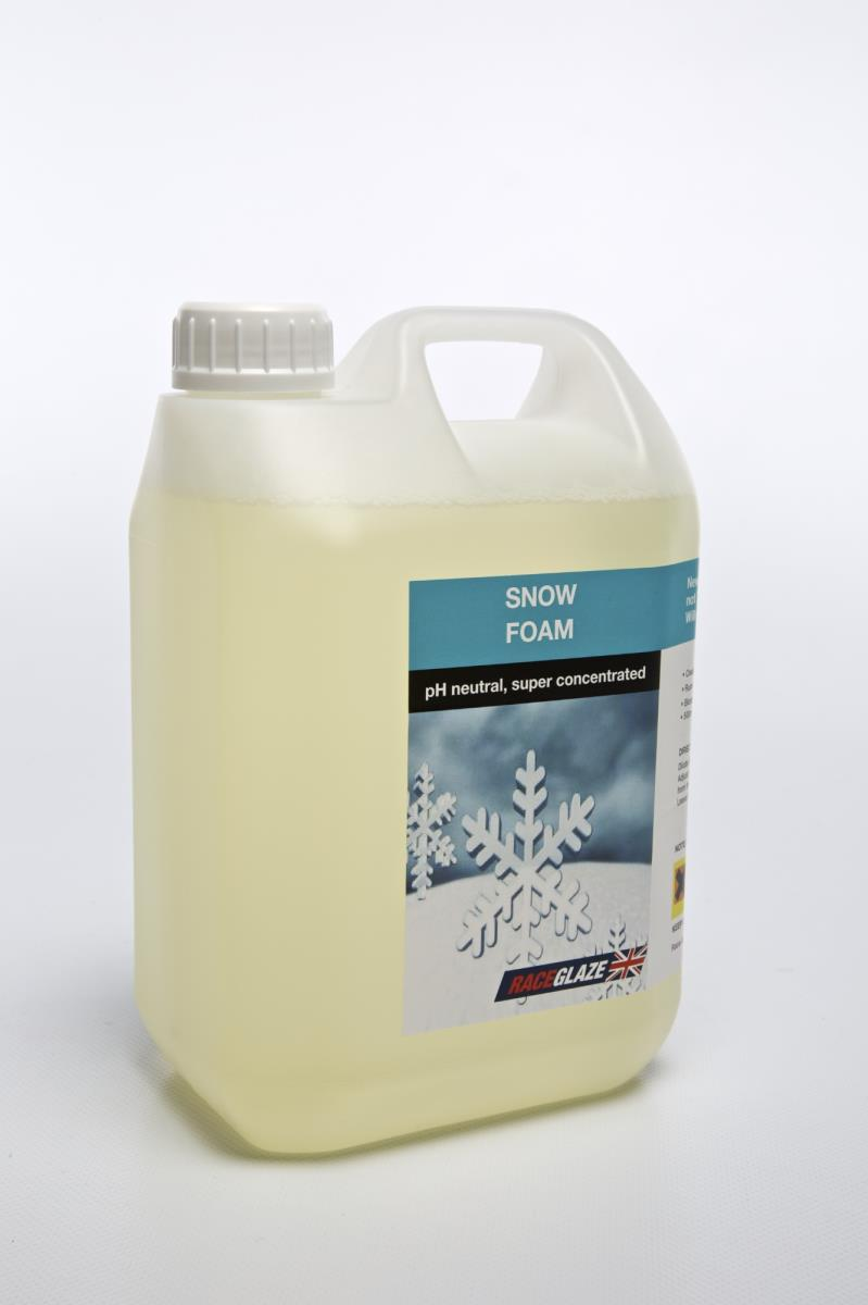 Race Glaze Concentrated ph Neutral Snow Foam 2.5 litre