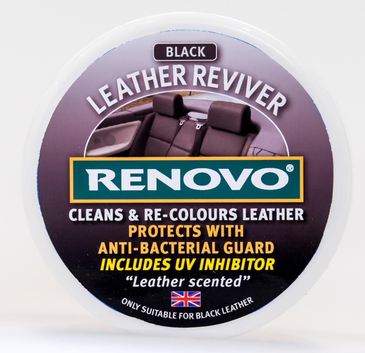 Renovo Leather Reviver (Black) 200ml