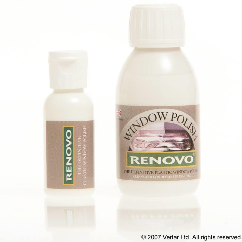 Renovo Clear Plastic and Window Polish
