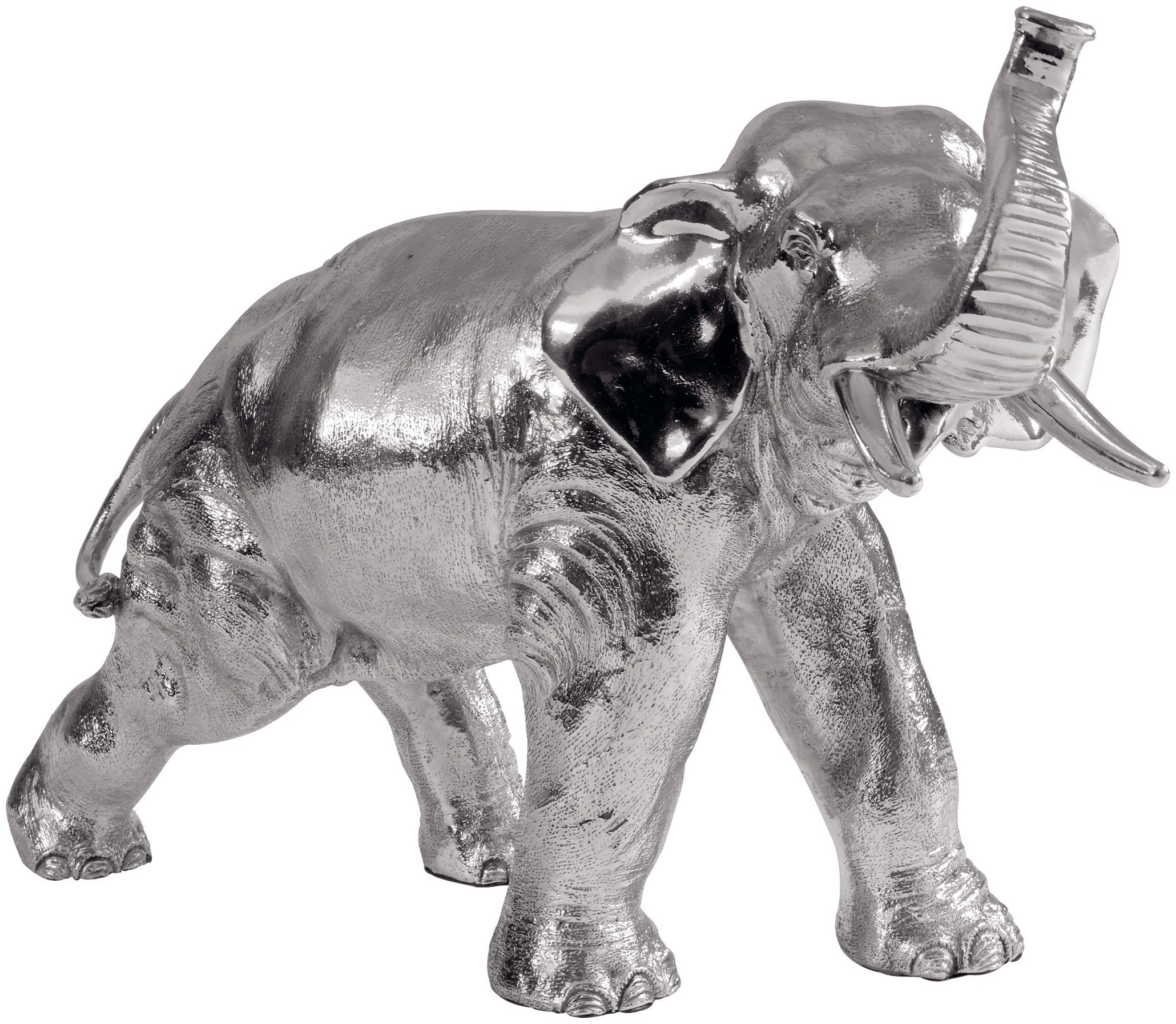 Silver Bull Nose Elephant