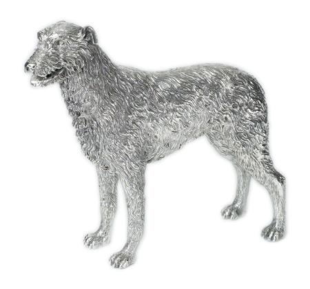 Silver Irish Wolf Hound