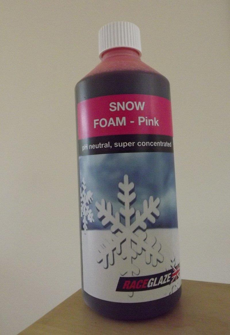 Race Glaze PINK Snow Foam Concentrate (500ml)