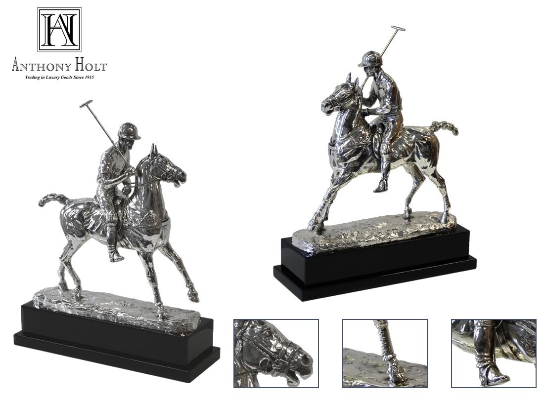 Silver Polo player