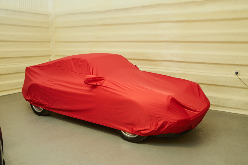 Mercedes SLC Roadster PREMIUM HEAVY D FULLY WATERPROOF CAR COVER COTTON LINED
