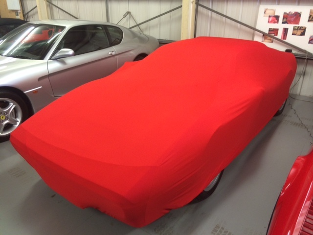 INDOOR BREATHABLE RED CAR COVER 130 GSM SOFT PREMIUM QUALITY FORD FOCUS ST MK2